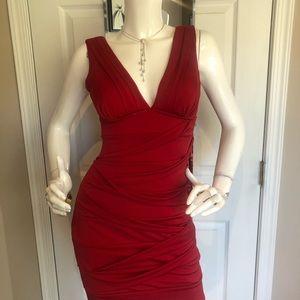 Emeral Sandae NWT form fitting mini dress